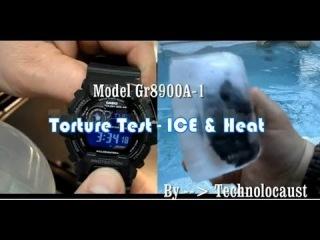 TORTURE TEST G-SHOCK | GR8900a-1 Tough Solar Frozen