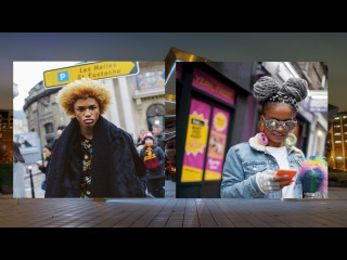 Part1: Street Hairstyles || What makes people so different || We're so different