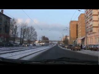 Экзамен ГИБДД. Вождение. Казань. ул. Модельная 3/5