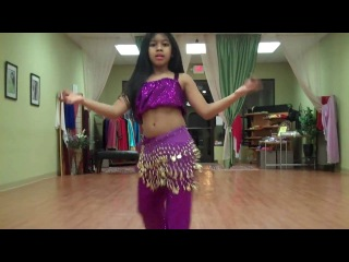 Little Advanced Belly Dancer from Majestic Belly Dancing