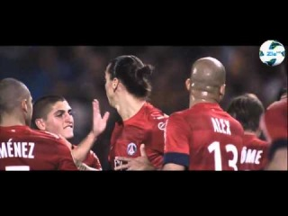 Zlatan Ibrahimovic - The Striker of PSG | 2012/2013 | HD |