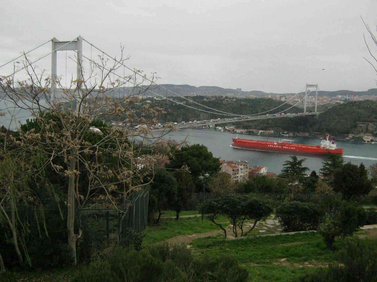 второй Босфорский мост