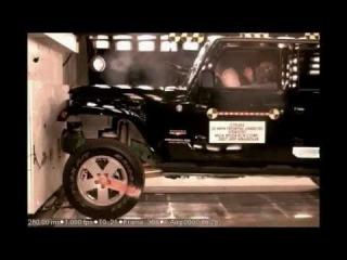 2007 Jeep Wrangler Sahara 25 Mp/h Unbelted NHTSA Frontal Impact