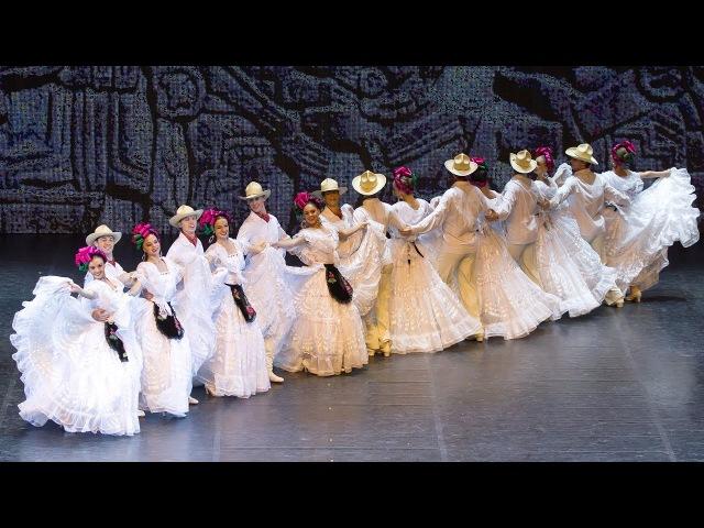 Сюита мексиканских танцев Сапатео Авалюлько . Балет Игоря Моисеева.
