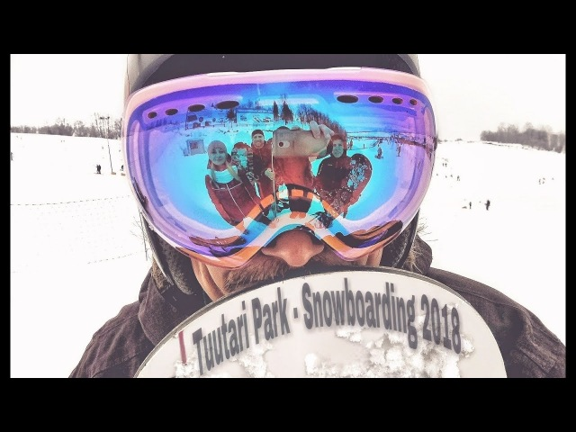 Tuutari ParK Snowboarding 2018