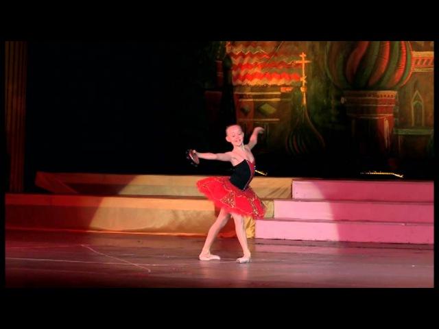 Летающая балерина театр танца Щелкунчик