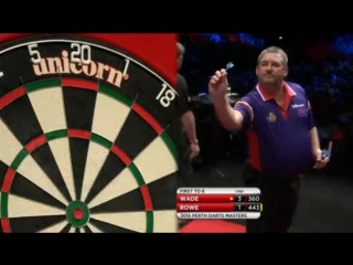 James Wade vs Adam Rowe (Perth Darts Masters 2015 / Round 1)