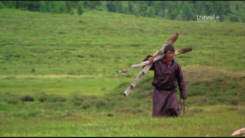Путешествие на край света с Артом Вольфом 24 серия Монголия Горы и степи