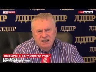 Жириновский отжег о выборах в Верховную Раду Украины. Украина новости сегодня