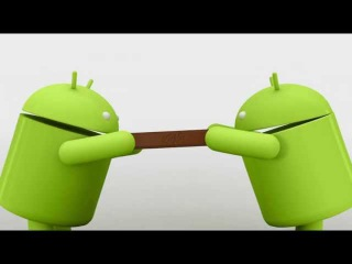 Android KITKAT 4.4 - Android Animation - Bigger Half