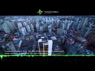 Mark Andrez & Den Rize vs. Cathy Burton - Flames Reach Out To Me (Tranceangel Mashup) [Music Video]
