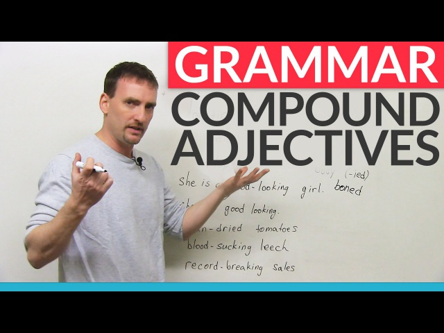 Learn English Punctuation How to use hyphens with compound adjectives