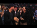 Demi Lovato Backstage w- Nick Jonas and Wilmer - Exclusive footage!
