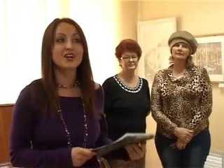 Алапаевск.7-й выпуск Молодежное тв. Выставка в музее искуств