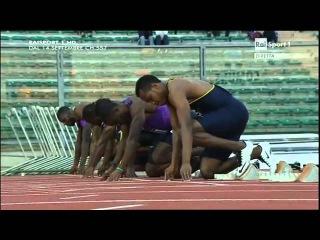 Femi Ogunode  Mike Rodgers 100m- Meeting Città Di Padova 2015