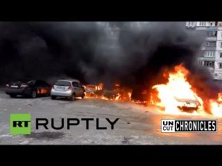 Uncut Chronicles: East Ukraine War Surge. Battlegrounds Donetsk & Marioupol (JAN 2015)