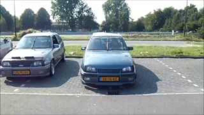 1ste bijeenkomst van Opel Freaks Noorden te Hoogeveen..