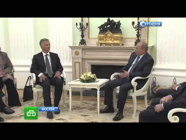 Путин до встречи с Президентом Швейцарии Буркхальтером