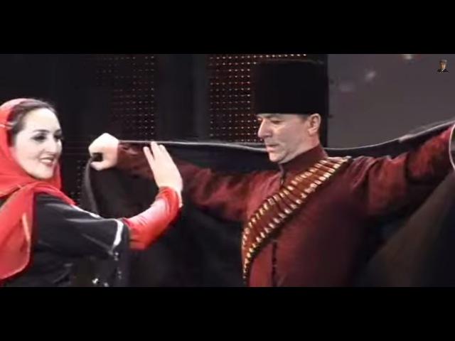 Ансамбль Вайнах Танец Изгнанник Дикалу и Мадина Музакаевы