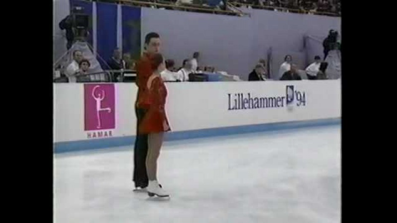 Ekaterina Gordeeva-Sergei Grinkov SP 1994 Lillehammer Olympics