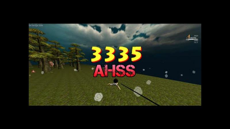 [AOTTG] 3k AHSS (forest | spiral)