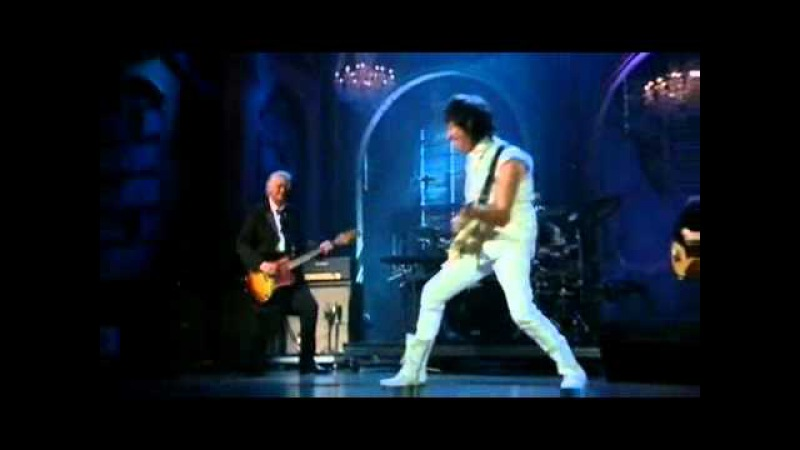 Jeff Beck and Jimmy Page Beck's Bolero and Immigrant Song R R Hall of Fame YouTube