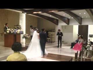 HD Fancam 150509 Kyuhyun singing at a wedding