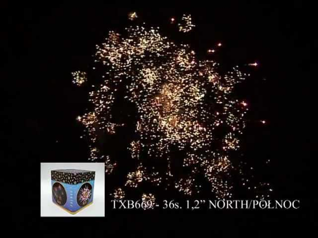 Fajerwerki TXB669 North Północ 36s 1 2 Triplex