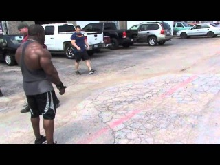 Johnnie Jackson Olympia Training Chest Workout