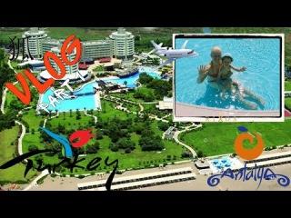 狐 VLOG. Antalya part 1. Путешествие с ребёнком. Перелёт на SmartLynx Airlines. Rixos Lares 5* 狐