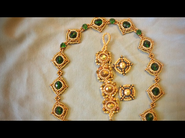Jewellery Component 8mm Bezeled Bead Tutorial