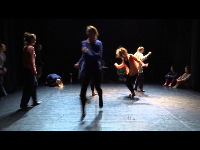 Group score dance improvisation PushOK fest in Kiev