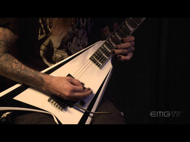 Alexi Laiho performs Not My Funeral for EMGtv