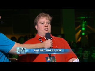 Red Shirt Guy Blizzcon 2010 - 2016 on World of Warcraft Q&A Panel Community