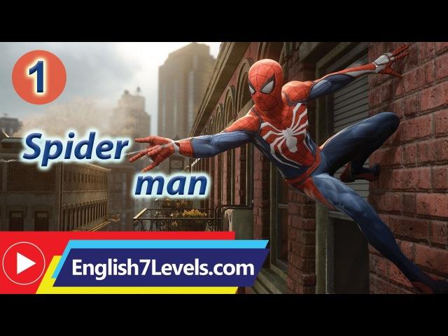 Learn English Through Story ★ Subtitles Spider man elementery level