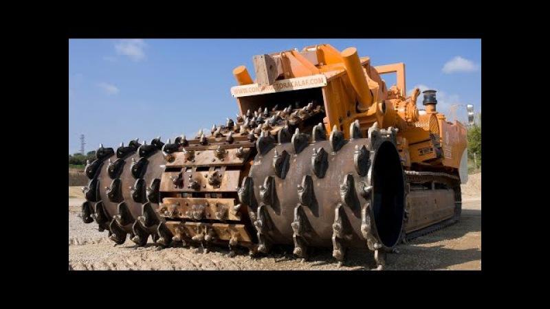 Самая большая камнедробилка в мире