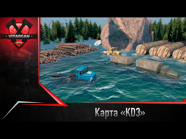Spin Tires Карта «KD3»