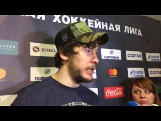 СКА - Металлург Мг. Александр Дергачев - о третьей победе армейцев в серии