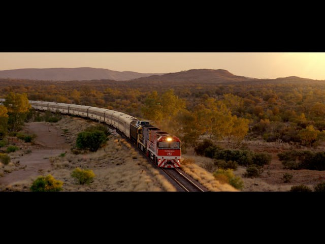 'Journey Beyond' The Ghan Indian Pacific