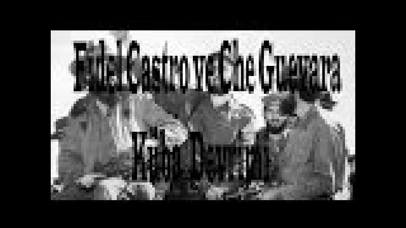 Fidel Castro ve Che Guevara Küba Devrimi