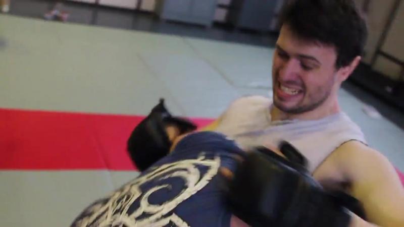 Dmitriy Melenevskiy vs Ivan The CAT Strijakov Amazing mma stunt fight by Paciki movie series