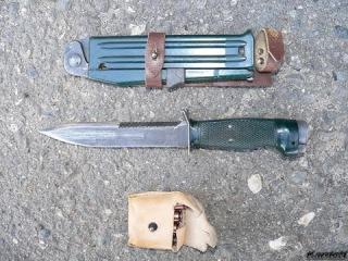 Фотообзор на Армейский нож стреляющий НРС-2 ajnjj,pjh yf fhvtqcrbq yj;  yhc-2