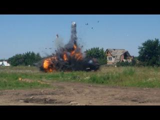 ВСУ взорвали местного жителя в машине!
