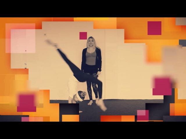 Как сделать переворот вперед на одну ногу Танцы Онлайн с Кристиной Мацкевич