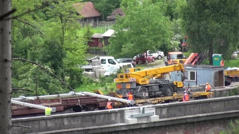 2015 05 31 Popravilo zeleznice - montaza portalne konstrukcije na Jelenovem mostu