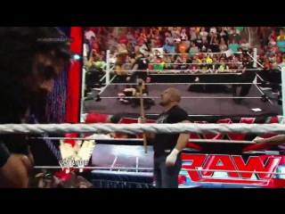 [#My1] The Shield vs. Evolution WWE Payback contract signing: Raw, May 26, 2014