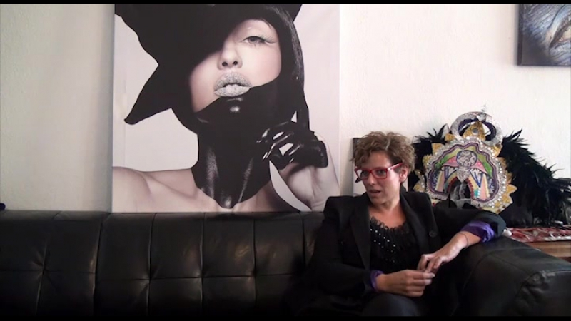 Einat Dan Makeup Artist and Bodypainter Interview in Berlin