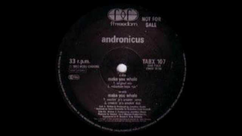 Andronicus Make You Whole 1992