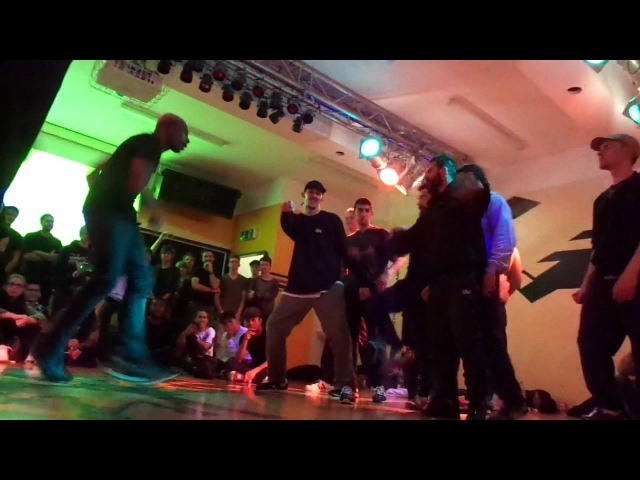 FunkyHarlekinz X IncredibleSyndicate vs. B8B @ Lordz Battle 2015