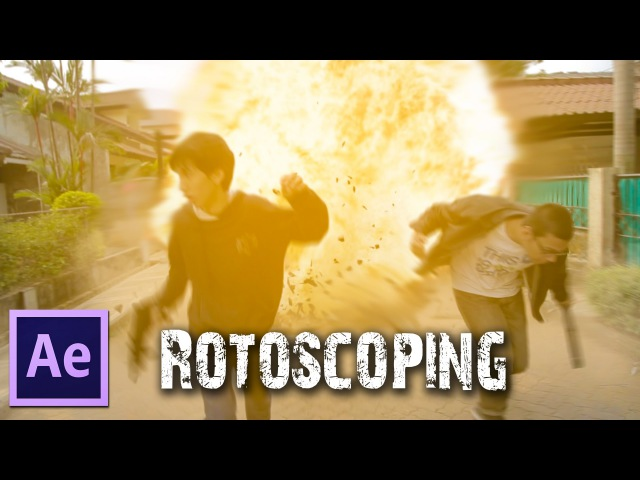 After Effects TUTORIALS Rotoscoping Roto Brush Ice Bucket Challenge Accepted